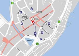 Kiel Medical Academy - Anfahrt, Karte, Parkplätze - MiniMap