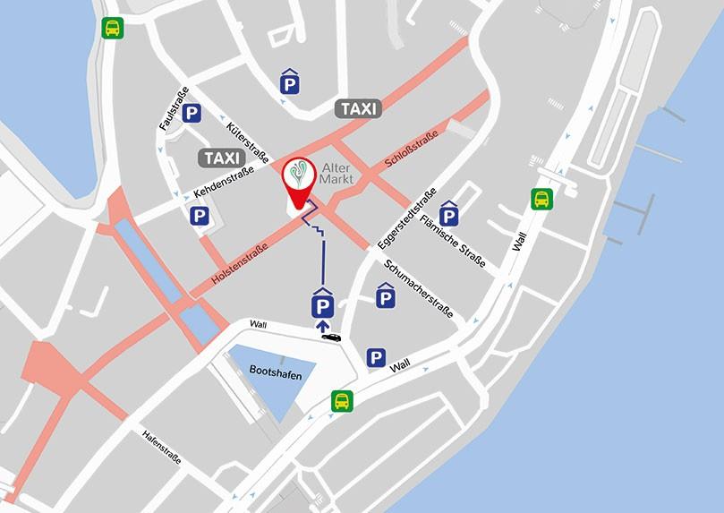 Kiel Medical Academy - Anfahrt, Karte, Parkplätze